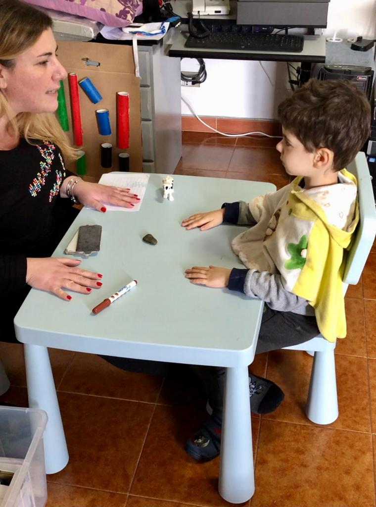 lavoro con i bambini