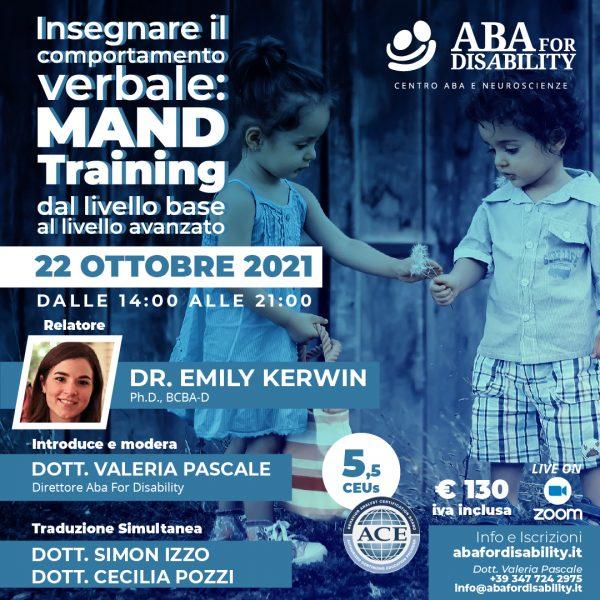 Locandina Mand Training - Italiano